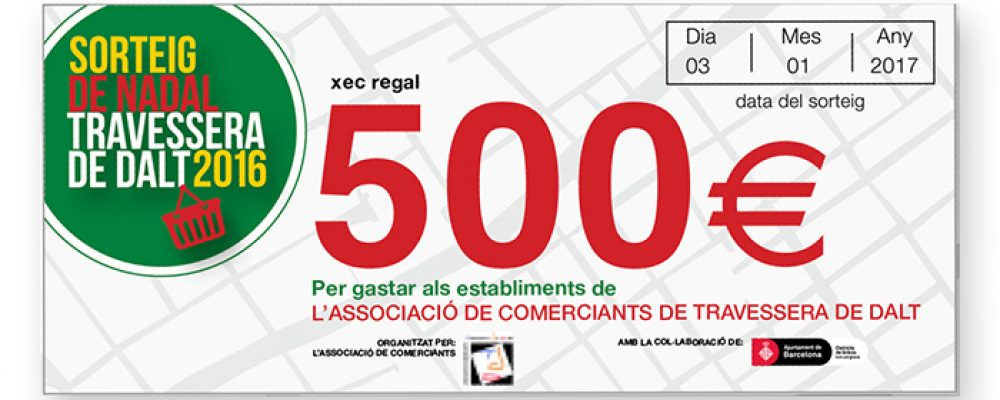 Sorteig d'un Xec Regal